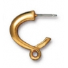 Earring Contempo Hoop Gold